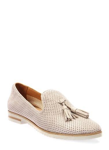 İnci Loafer Ayakkabı Gri
